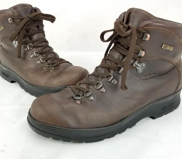 1db15724278 LL Bean Gore-Tex Leather Vibram Brown Hiking Boots